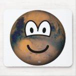 Mars emoticon   mousepad