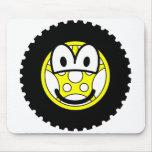 Tire emoticon   mousepad