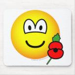 Poppy emoticon   mousepad