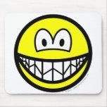 Nervous smile   mousepad