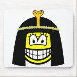 Cleopatra smile   mousepad
