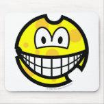 Cheese smile   mousepad