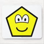 Pentagon buddy icon   mousepad