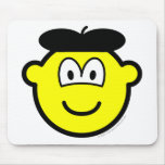 Baret buddy icon   mousepad