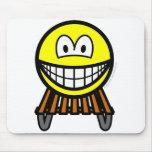 Sled smile   mousepad