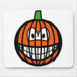 Jack-o-lantern smile   mousepad