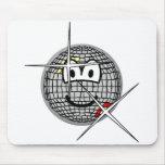 Discoball emoticon   mousepad