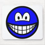 Colored smile blue  mousepad