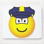 Cop emoticon   mousepad