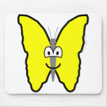 Butterfly buddy icon   mousepad