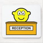 Reception buddy icon   mousepad