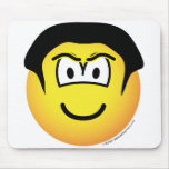The Rock emoticon WWF  mousepad