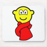 Scarf buddy icon   mousepad