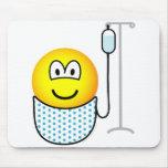 Hospital emoticon   mousepad