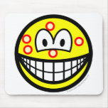 Acne smile   mousepad