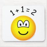 Mathmatics emoticon   mousepad