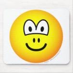 Nostrils emoticon   mousepad