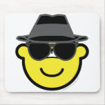 Blues brother buddy icon   mousepad