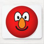 Elmo emoticon   mousepad