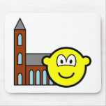 Church going buddy icon   mousepad