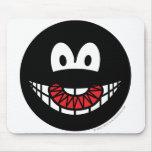Evil smile Devilish  mousepad