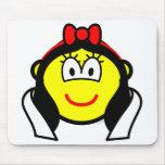 Snowwhite buddy icon   mousepad