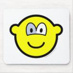 Glass eye buddy icon   mousepad