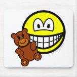 Teddy bear toy smile   mousepad