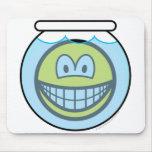 Fishbowl smile   mousepad