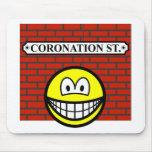 Coronation street smile   mousepad