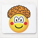 Clown emoticon   mousepad