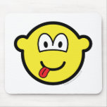 Happy face buddy icon   mousepad