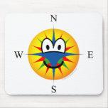 Compass emoticon   mousepad