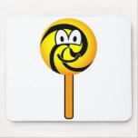 Lollipop emoticon   mousepad
