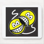 Broadway smile   mousepad