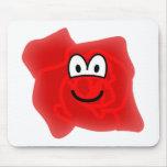 Roos emoticon   mousepad