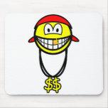 Rapper smile   mousepad