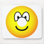 Donut emoticon   mousepad