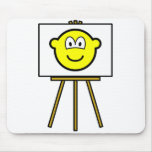 Painted buddy icon   mousepad