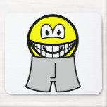 In boxer short smile   mousepad