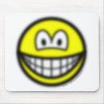 Blurry smile   mousepad
