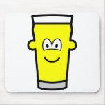 Pint of emoticon   mousepad