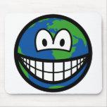 Earth smile   mousepad