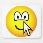 Clickable emoticon   mousepad