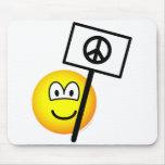 Geen kernwapens emoticon   mousepad