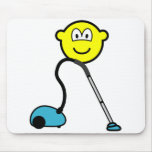 Vacuum cleaner buddy icon   mousepad