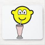 Milkshake buddy icon   mousepad