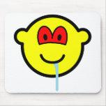 Zombie buddy icon   mousepad