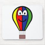 Balloon buddy icon Colorful  mousepad