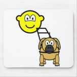 Guide dog buddy icon   mousepad
